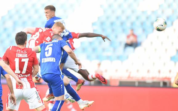 Pankov postiže gol za 1:1