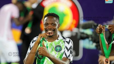 Super Eagles captain Ahmed Musa says he's self-isolating at home after arriving in Abuja from Saudi Arabia