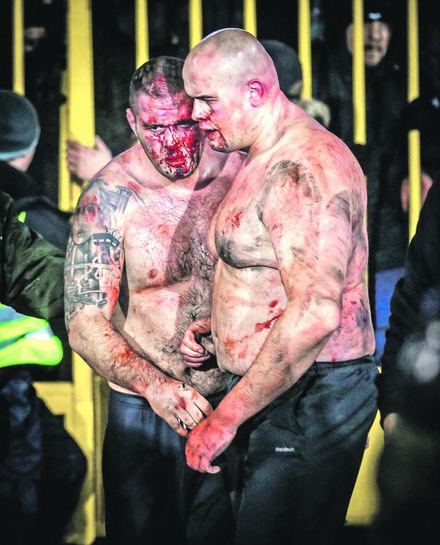 MMA borac Damir Tovarović iz Splita učestvovao u neredima na derbiju