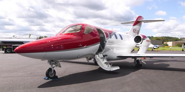 A 2016 Honda private jet, similar to one Avenatti's law firm owns.