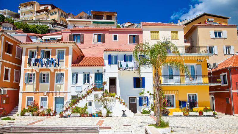 Tradycyjne greckie domy
