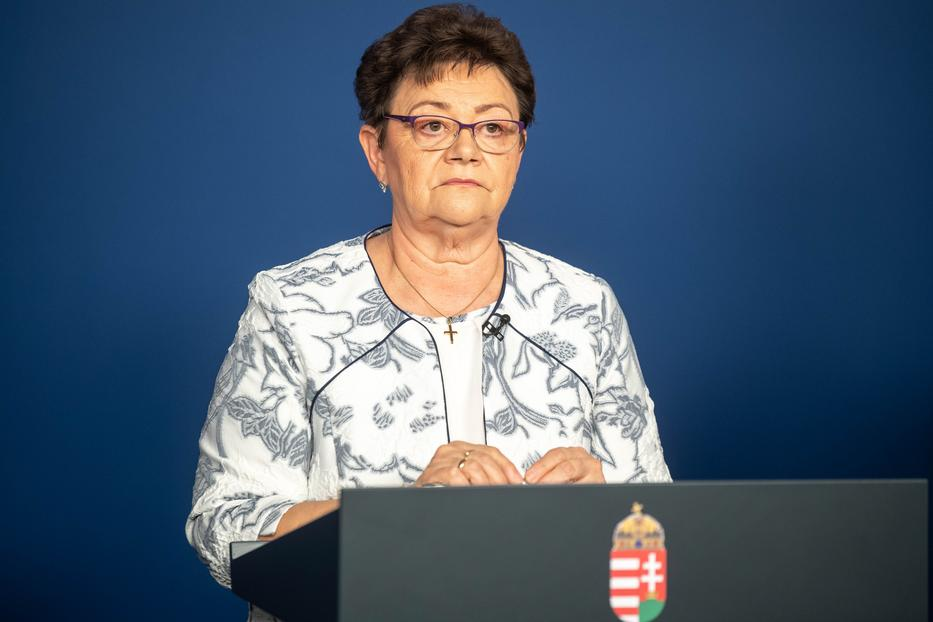 Müller Cecília elismerte: Magyarországon is voltak olyanok, akik kétszer kapták el a koronavírust, és tüneteket is produkáltak / Fotó: MTI/kormany.hu/Botár Gergely