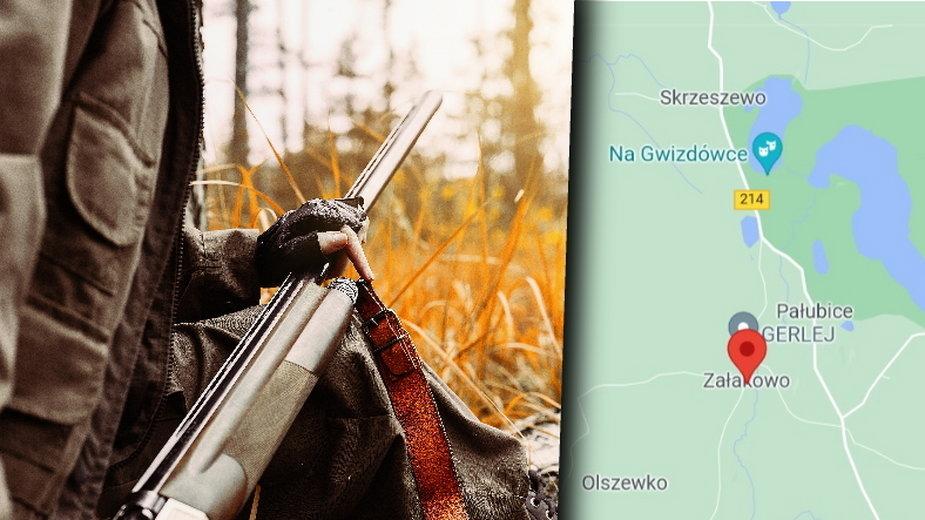 Załakowo: Myśliwy postrzelił na polowaniu 14-latka. Pomylił go z dzikiem