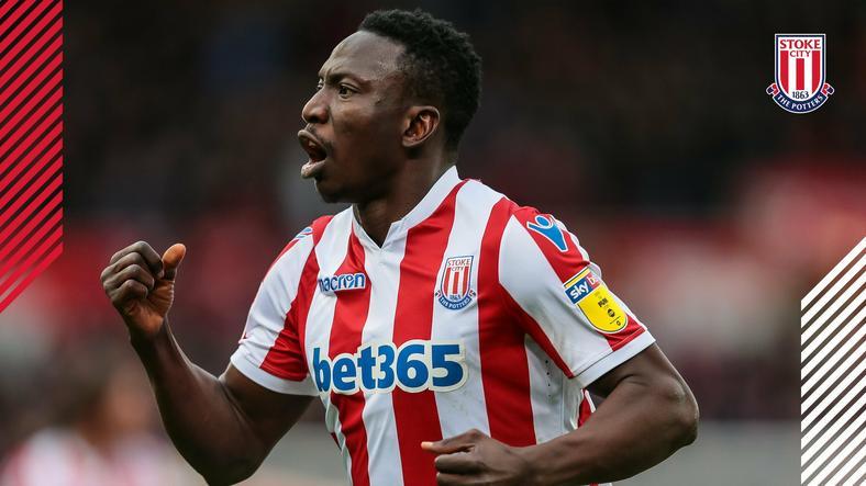 Oghenekaro Etebo is finally off the mark for Stoke City  (Stoke City)