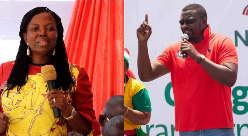 'You came late and you're insulting too?' – Ghanaians react to clash between Dumelo and Maa Lydia at debate