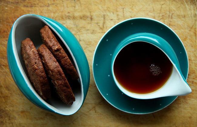 Kakaowe ciastka z orzechami, fot. Facet i kuchnia