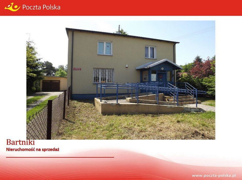 Budynek Poczty Polskiej w Bartnikach