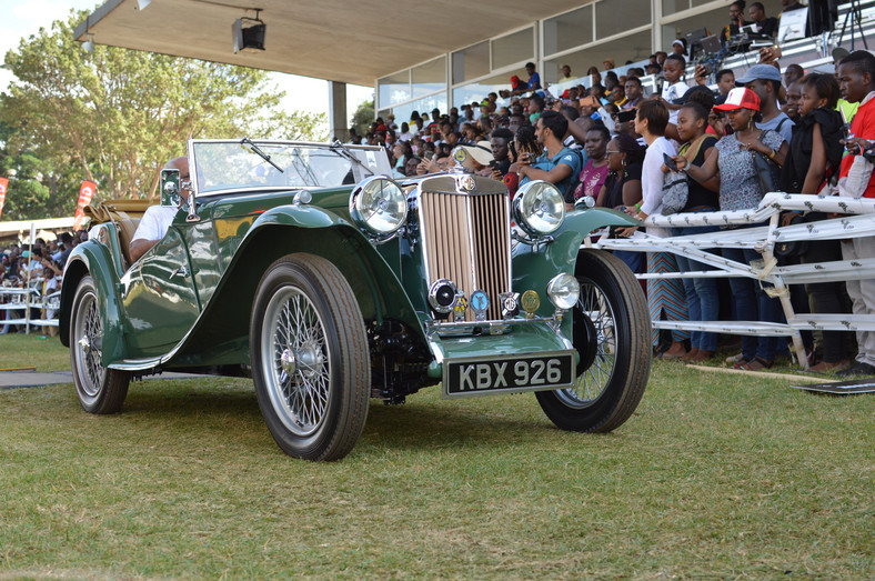 Concours d'elegance 2019 1947 Aura MG TG