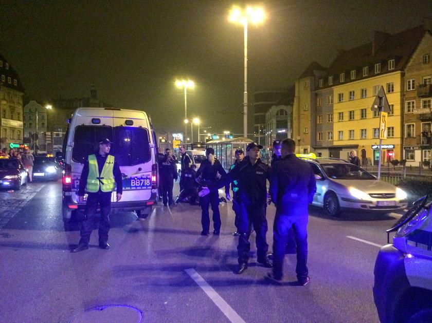 Strzały w centrum Wrocławia
