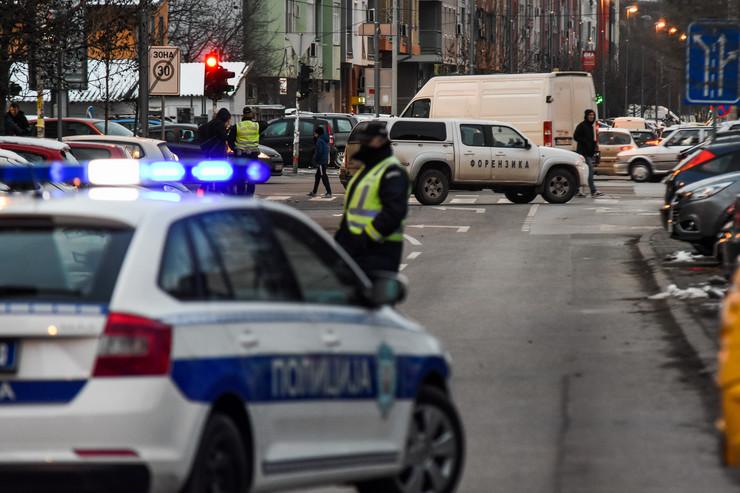 Dojava bomba Ulica Ilije Birčanina Novi Sad