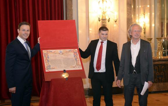 Siniša Mali, Nikola Nikodijević i Peter Handke