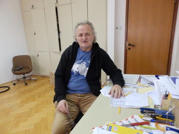 Dragan Đurđević na radnom mestu