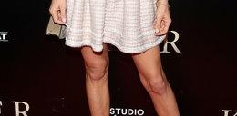 Piękna aktorka odsłoniła kolana. Chyba niepotrzebnie...