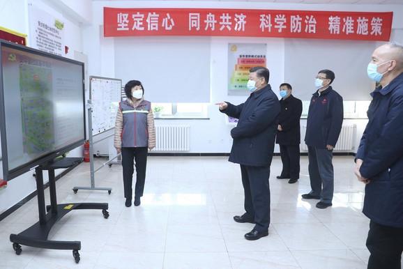 Si u inspekciji 10. februara u Pekingu