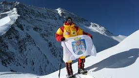 Poznaniak chce zdobyć najwyższy szczyt świata