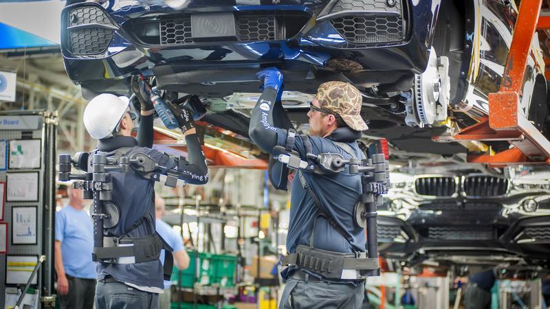 Pracownicy BMW w amerykańskich zakładach marki