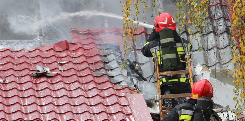 Tragiczny pożar w Malborku. Nie żyją trzy osoby