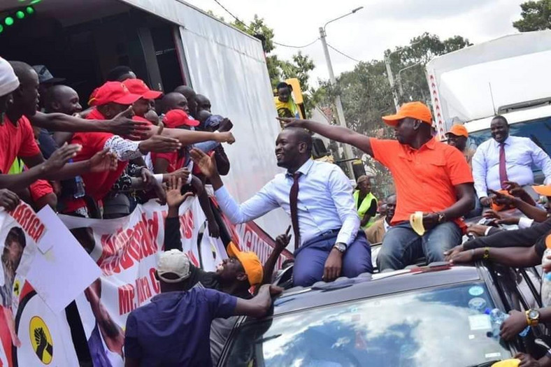Jubilee and ODM campaign teams meet in Kibra