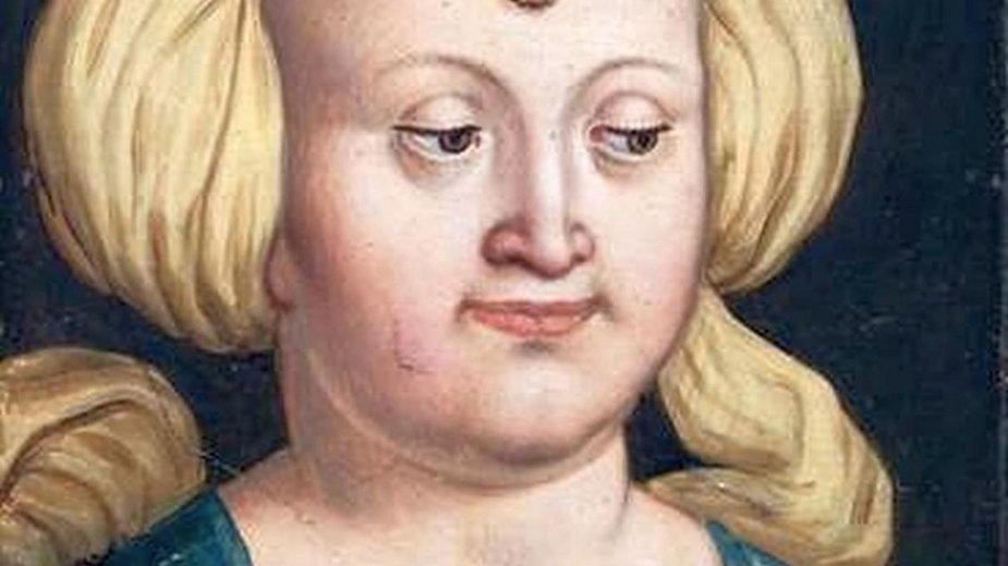 Imaginatywny portret Elżbiety z drugiej polowy XVI w.