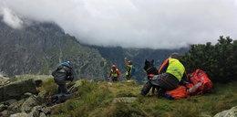 Śmierć na szlaku w Tatrach. Przy zwłokach kobiety czuwał jej pies