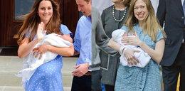 Naśladuje księżną Kate