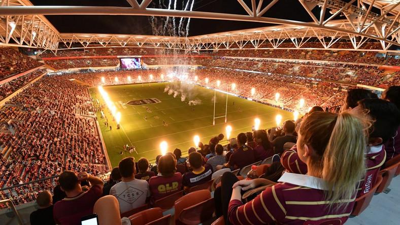 Suncorp Stadium w Brisbane