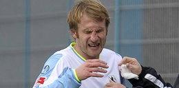 Sędzia złamał nos piłkarzowi