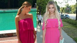 Izabela Janachowska i Ola Ciupa w niemal identycznych sukienkach. Która wygląda lepiej?