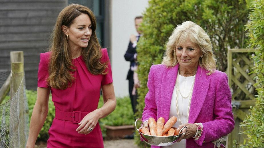 Spotkanie Jill Biden i Kate Middleton