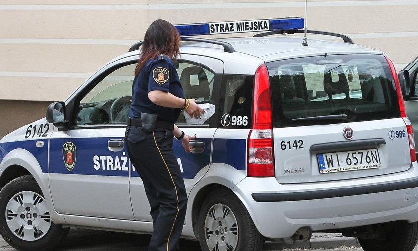 zakupy funkcjonariuszek straży miejskiej