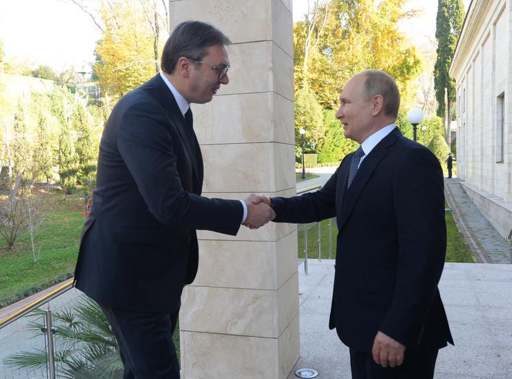 Vucic Putin 01 foto Tanjug Predsednistvo Srbije