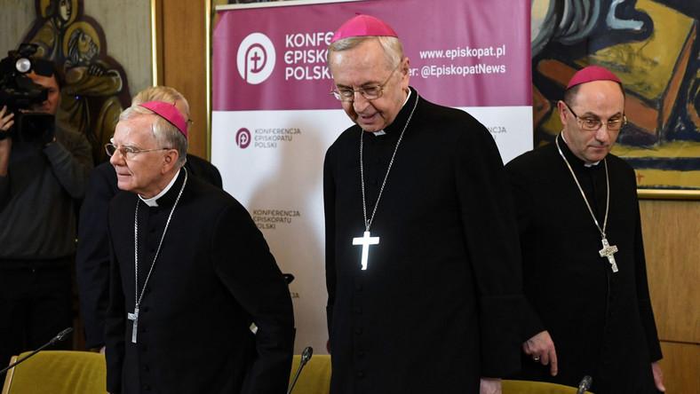 abp Marek Jędraszewski, abp Stanisław Gądecki, prymas Polski, abp Wojciech Polak