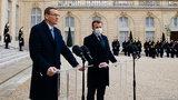 Morawiecki dostał na lunch perliczki. Ale prezydent Macron wolałby, aby polski premier skusił się raczej na... francuski atom!