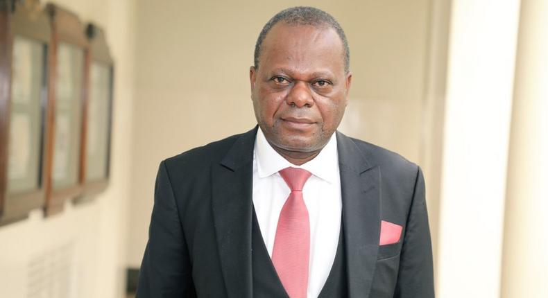 Candidate for Kenya's Chief Justice position, Prof. Dr Dr Moni Wekesa