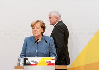 Najgorszy wynik partii Angeli Merkel od 50 lat. Sukces Zielonych i skrajnej prawicy w wyborach lokalnych w Hesji