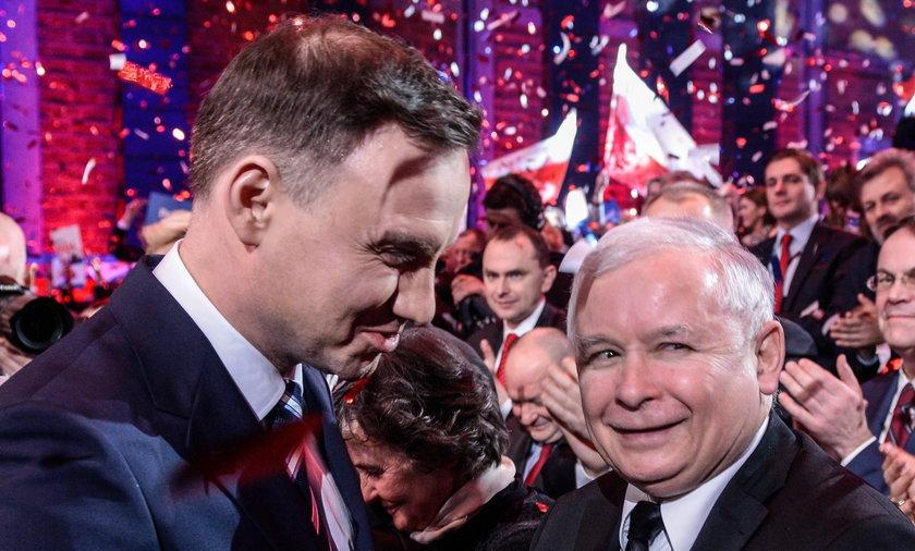 Andrzej Duda Jarosław Kaczyński