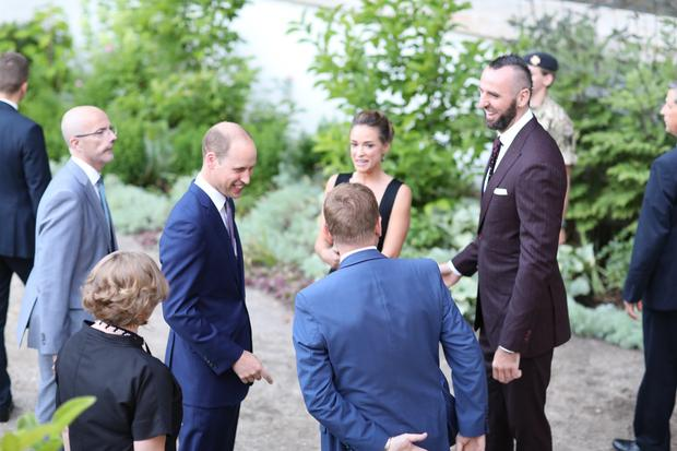 Alicja Bachleda-Curuś spotkała się z księciem Williamem (fot. Ambasada Wielkiej Brytanii w Polsce)