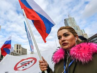Opposition rally in Moscow, Russia - 10 Mar 2019