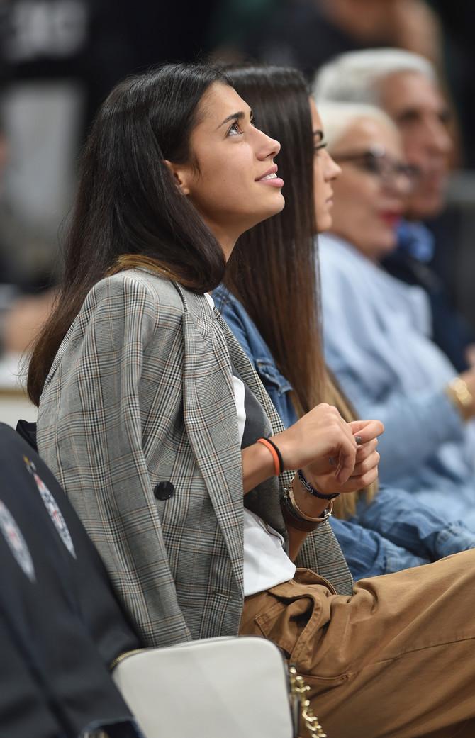 Olga često gleda košarkaške utakmice u Beogradu