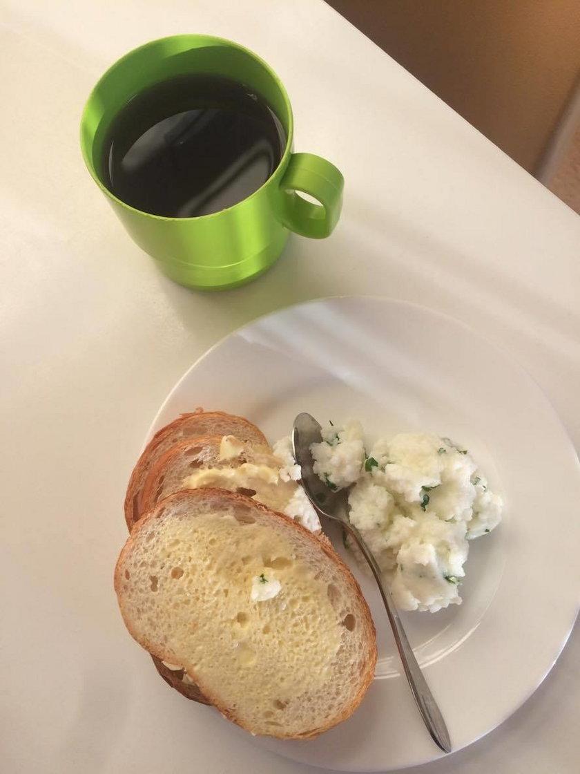 Śniadanie w Pomorskim Centrum Chorób Zakaźnych i Gruźlicy