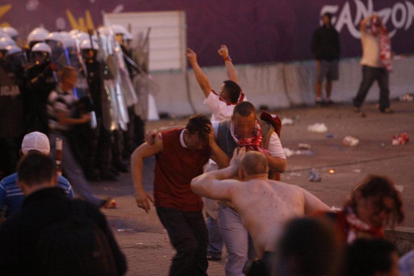 Chuligani pobili się przy okazji meczu Polska – Rosja