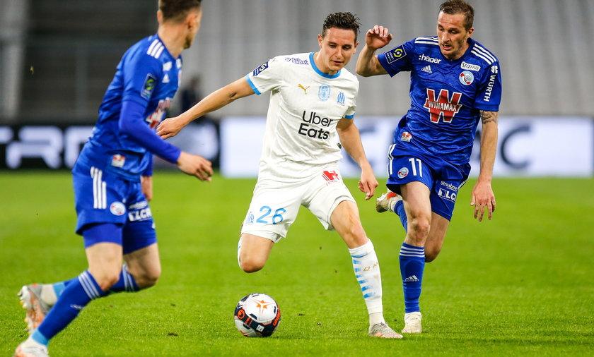 Olympique de Marseille v RC Strasbourg - Ligue 1 Uber Eats
