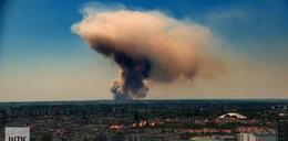 Pożary w Wielkopolsce. Dym widać z daleka