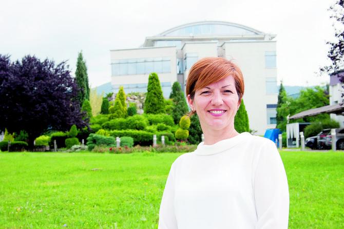 """Marina Jevtić, komercijalna direktorka """"Metalac"""" FAD-a"""