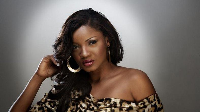 Omotola in a photo shoot