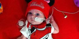 Zaraz po porodzie zoperowali jej serce