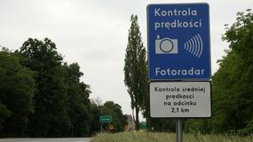 Uwaga! Na drogach pojawiają się kolejne odcinkowe pomiary prędkości