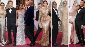 Oscary 2017 - najpiękniejsze pary na czerwonym dywanie