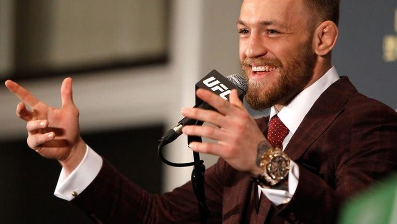 Conor McGregor looking sharp