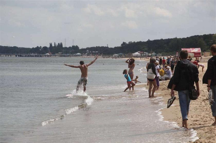 Nie kąpcie się na gdańskich plażach!